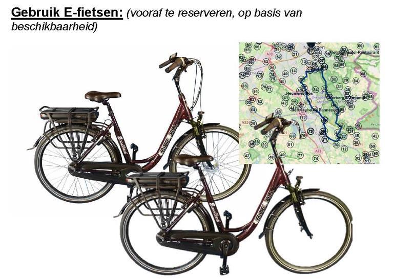 E-bikes en fietsen