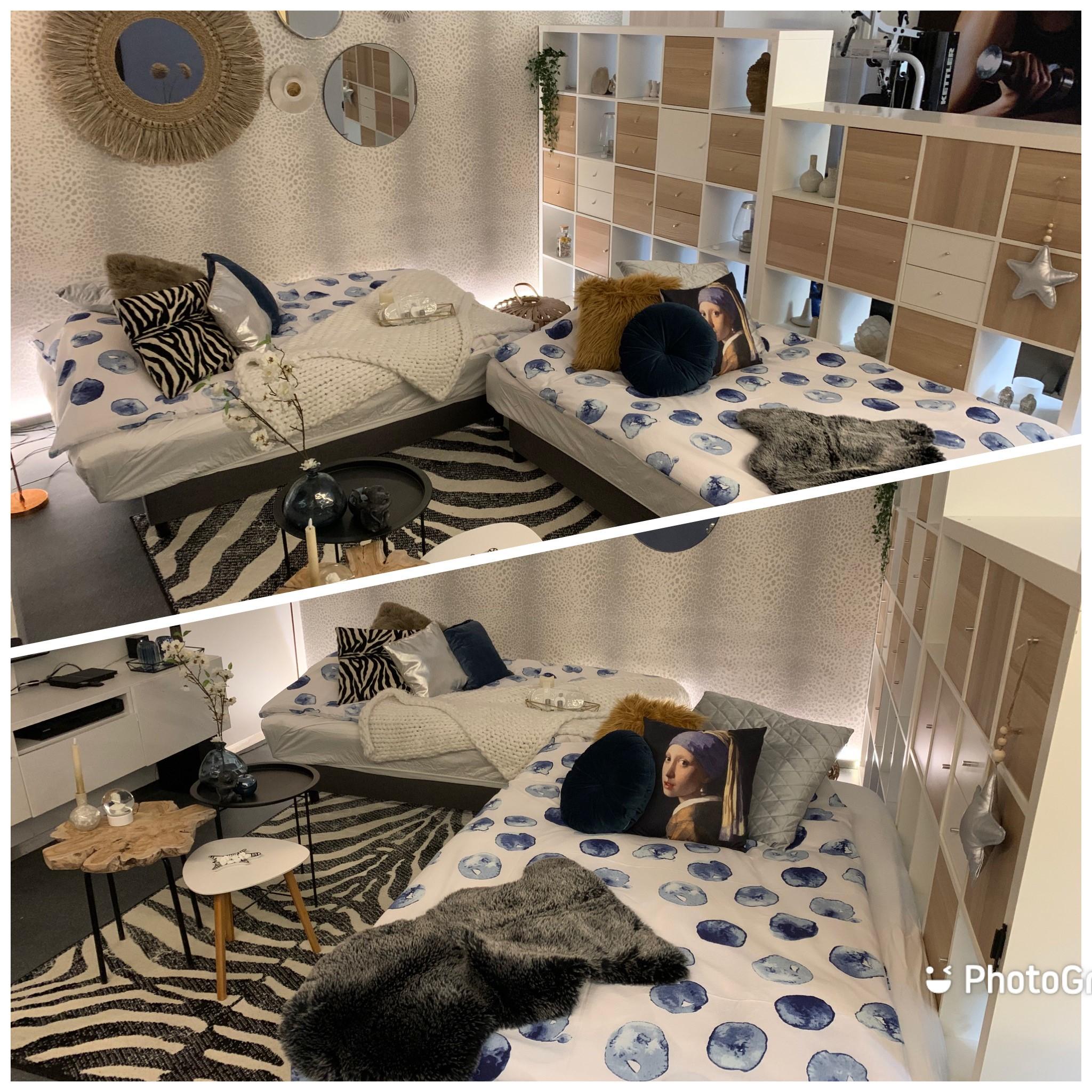 210512 bed/slaapbank gereed voor onze gasten APP+