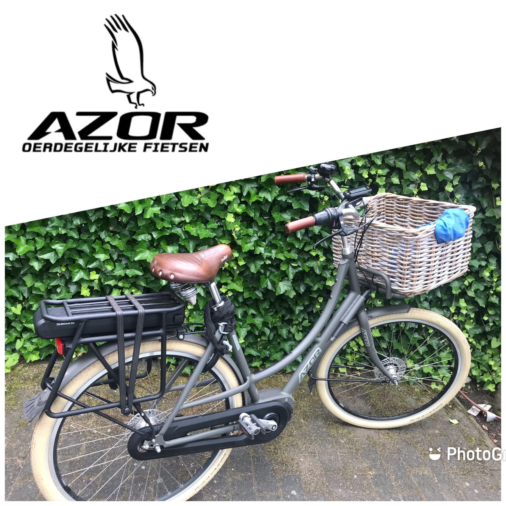 210625 uitbreiding: een stoere AZOR E-bike fiets